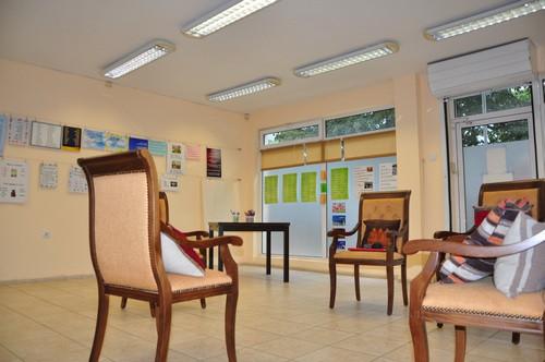 зала за сугестопедични курсове по английски за възрастни в езикова школа KREG, Варна