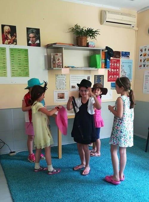Деца подоготовка за представление в сугестопедичен курс