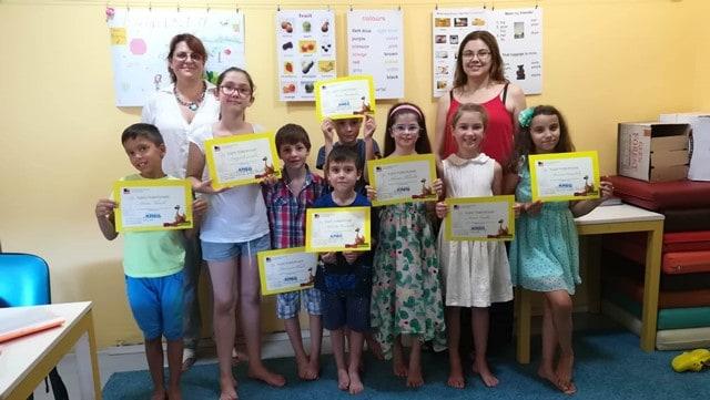 Снимка от лятно езиково училище в KREG Варна