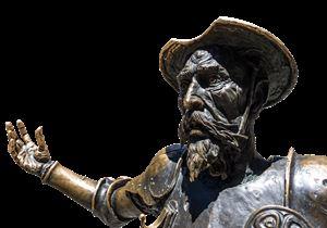 Дон Кихот - героят на испанския писател Сервантес